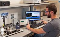 Software de calibração de fluxo
