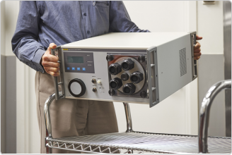 5128A RHapid-Cal® Humidity Generator is portable
