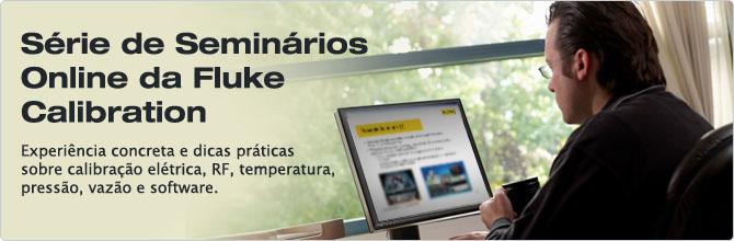 Seminários Online Fluke Calibration