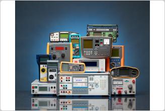 Calibrador do verificador elétrico 5322A com carga de trabalho